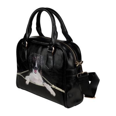 Borzoi Shoulder Handbag V1