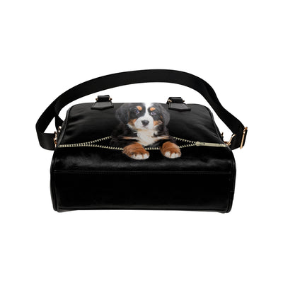 Bernese Mountain Shoulder Handbag V2