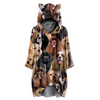A Bunch of American Cocker Spaniels - Hoodie With Ears V1