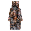 A Bunch of Australian Cattles - Hoodie With Ears V1