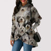 A Bunch Of Old English Sheepdogs - Fashion Long Hoodie V1