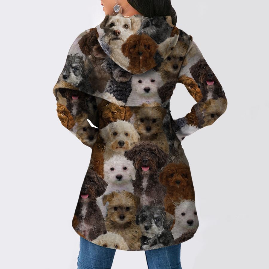 A Bunch Of Schnoodles - Fashion Long Hoodie V1