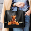 Airedale Terrier Luxury Handbag V1