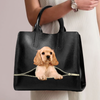 American Cocker Spaniel Luxury Handbag V1