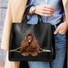 American Cocker Spaniel Luxury Handbag V3