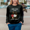 Are You Over 6 Feet Away - German Shepherd Sweatshirt V1