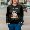 Are You Over 6 Feet Away - Pug Sweatshirt V1