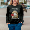 Are You Over 6 Feet Away - Tibetan Spaniel Sweatshirt V1