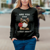 Are You Over 6 Feet Away - Yorkshire Terrier Sweatshirt V1