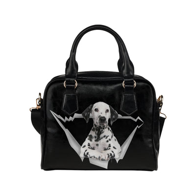Dalmatian Shoulder Handbag V1