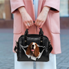 Basset Hound Shoulder Handbag V2
