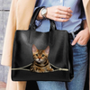 Bengal Cat Luxury Handbag V1