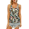 Bernese Mountain - Hawaiian Tank Top V1