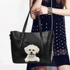 Bichon Frise Unique Handbag V1