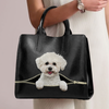 Bichon Frise Luxury Handbag V1