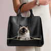 Birman Cat Luxury Handbag V1