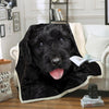 Black Russian Terrier Blanket