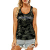 Border Terrier Camo - Hollow Tank Top V1