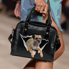 Border Terrier Shoulder Handbag