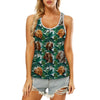Bracco Italiano - Hawaiian Tank Top V2