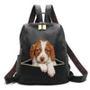 Brittany Spaniel Backpack V1
