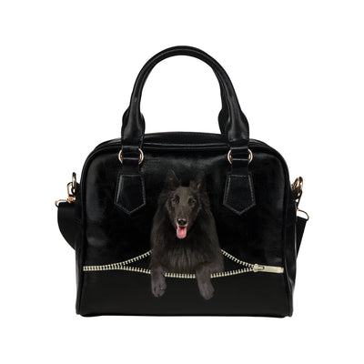 Belgian Shepherd Shoulder Handbag V3