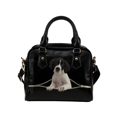 Engelsk Pointer Shoulder Handbag V2