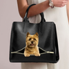 Cairn Terrier Luxury Handbag V1