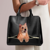 Cairn Terrier Luxury Handbag V3