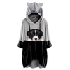 Can You See Me Now - Border Collie Hoodie met oren V1