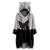 Can You See Me Now - Border Collie Hoodie met oren V2