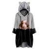 Can You See Me Now - Bracco Italiano Hoodie With Ears V1