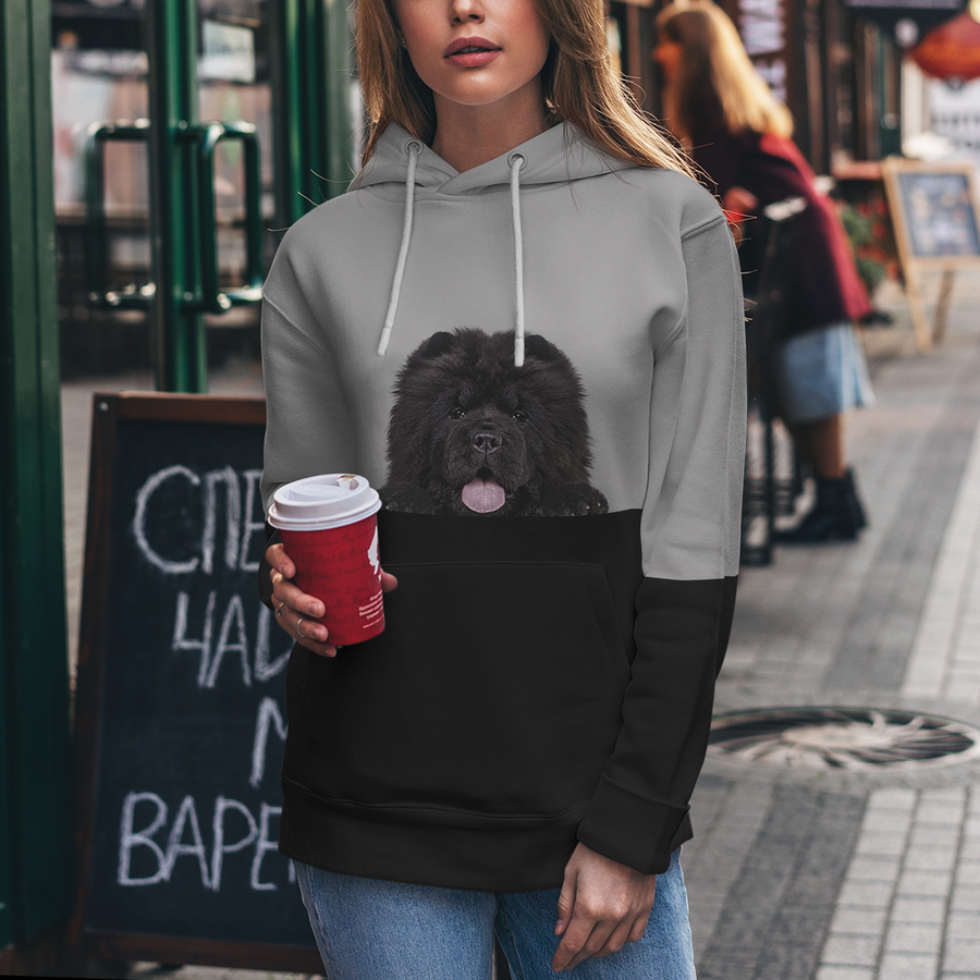 Can You See Me - Chow Chow Hoodie V2