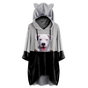 Can You See Me Now - Dogo Argentino Hoodie met oren V1