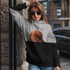 Can You See Me - Bordeauxdog Hoodie V1