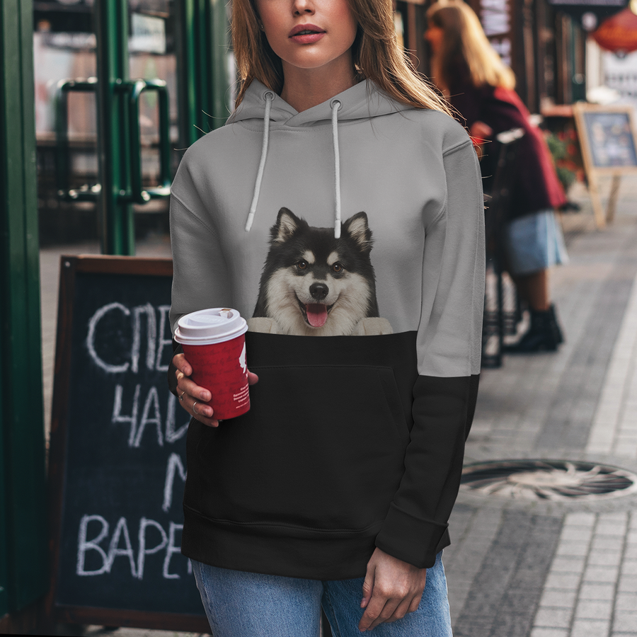 Can You See Me - Finse Lapphund Hoodie V1