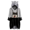 Can You See Me Now - Finse Lapphund Hoodie met oren V1