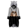 Can You See Me Now - Lhasa Apso Hoodie With Ears V1