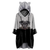 Can You See Me Now - Schnauzer Hoodie With Ears V1