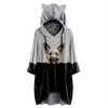Can You See Me Now - Skye Terrier Hoodie With Ears V1