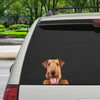Can You See Me Now - Airedale Terrier Car/ Door/ Fridge/ Laptop Sticker V1