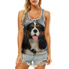 Cavalier King Charles Spaniel - Hollow Tank Top V3