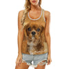 Cavalier King Charles Spaniel - Hollow Tank Top V4