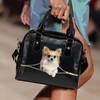 Chihuahua Shoulder Handbag V3