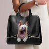 Chinese Crested Luxury Handbag V1