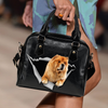 Chow Chow Shoulder Handbag V1