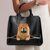 Chow Chow Luxury Handbag V1