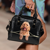 Cockapoo Shoulder Handbag V2