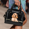 American Cocker Spaniel Shoulder Handbag V1
