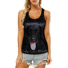 Curly Coated Retriever - Hollow Tank Top V1